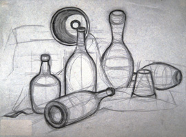 student drawings  |Pencil Sketch Simple Object