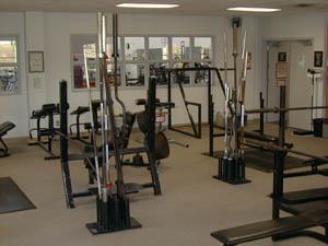 Riverside gym facilities