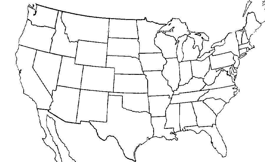 United States Map Test HIS 1623 PCM Study Guide