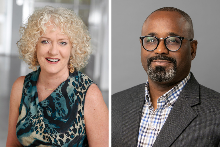 Dr. Gaye Lynn Scott, Academic Programs associate vice president, and Dr. Dorado Kinney, Central Region Campuses executive dean, have been selected for the prestigious Aspen Presidential Fellowship for Community College Excellence.