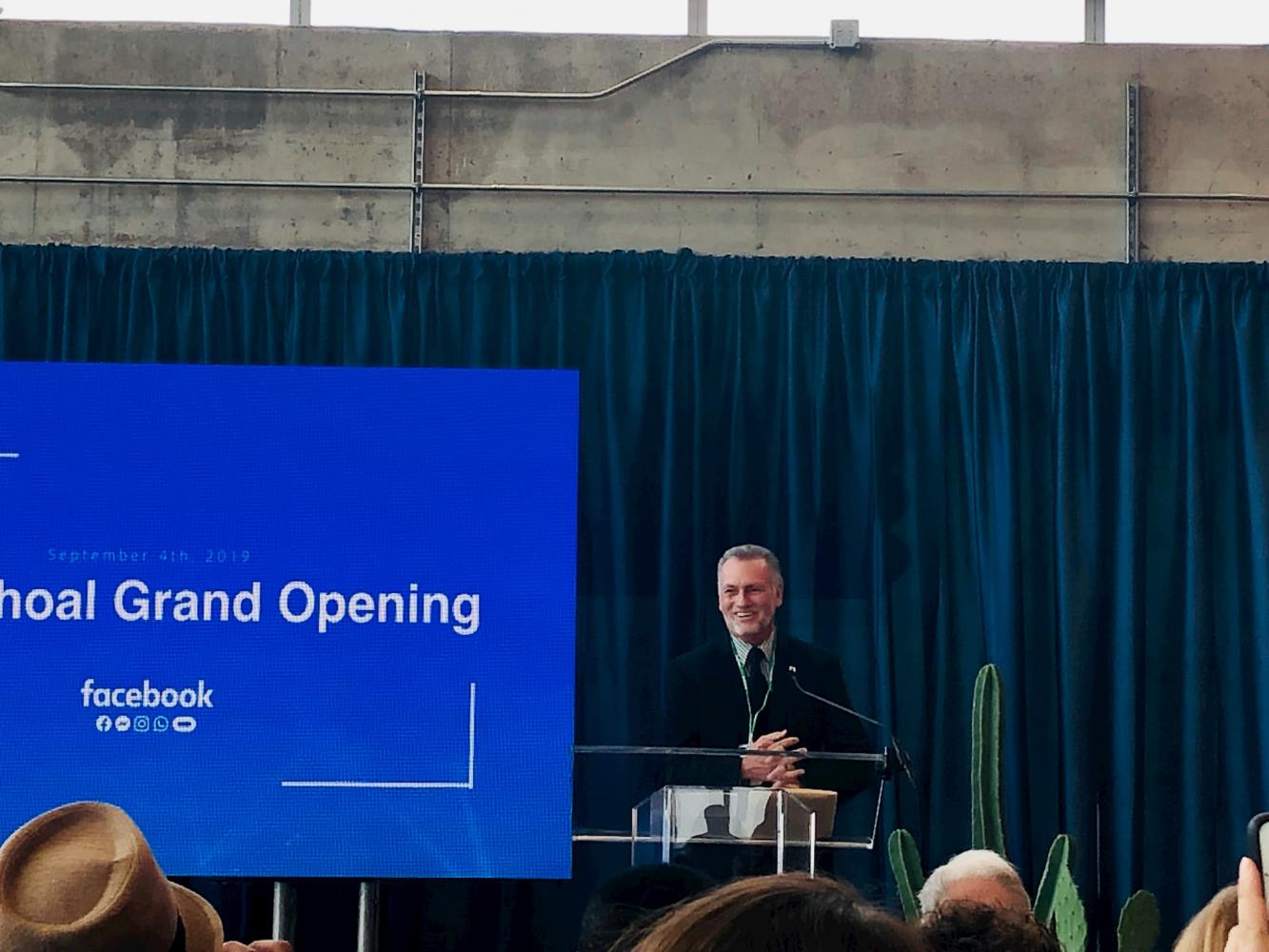 ACC and Facebook partnership announcement