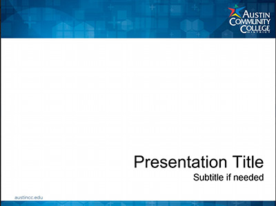 2015 Basic Presentation Template