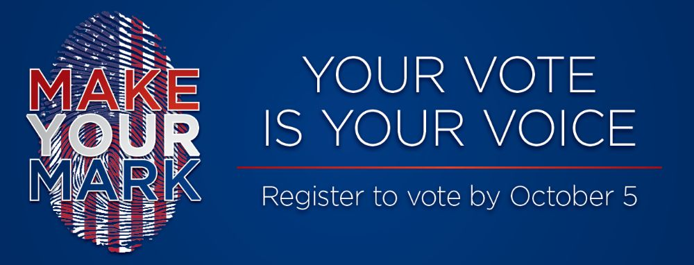 Make Your Mark - Register to Vote