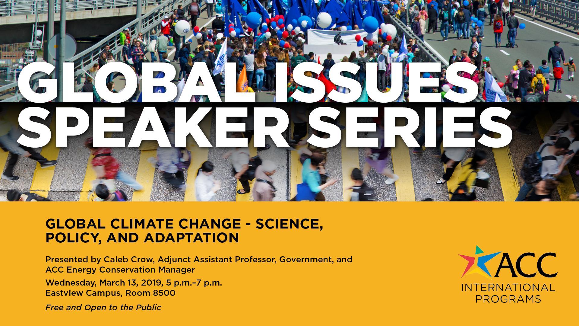 FY19 Global Issues Speaker Series info