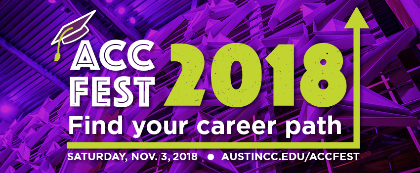ACC Fest 2018 - Find Your Career Path.