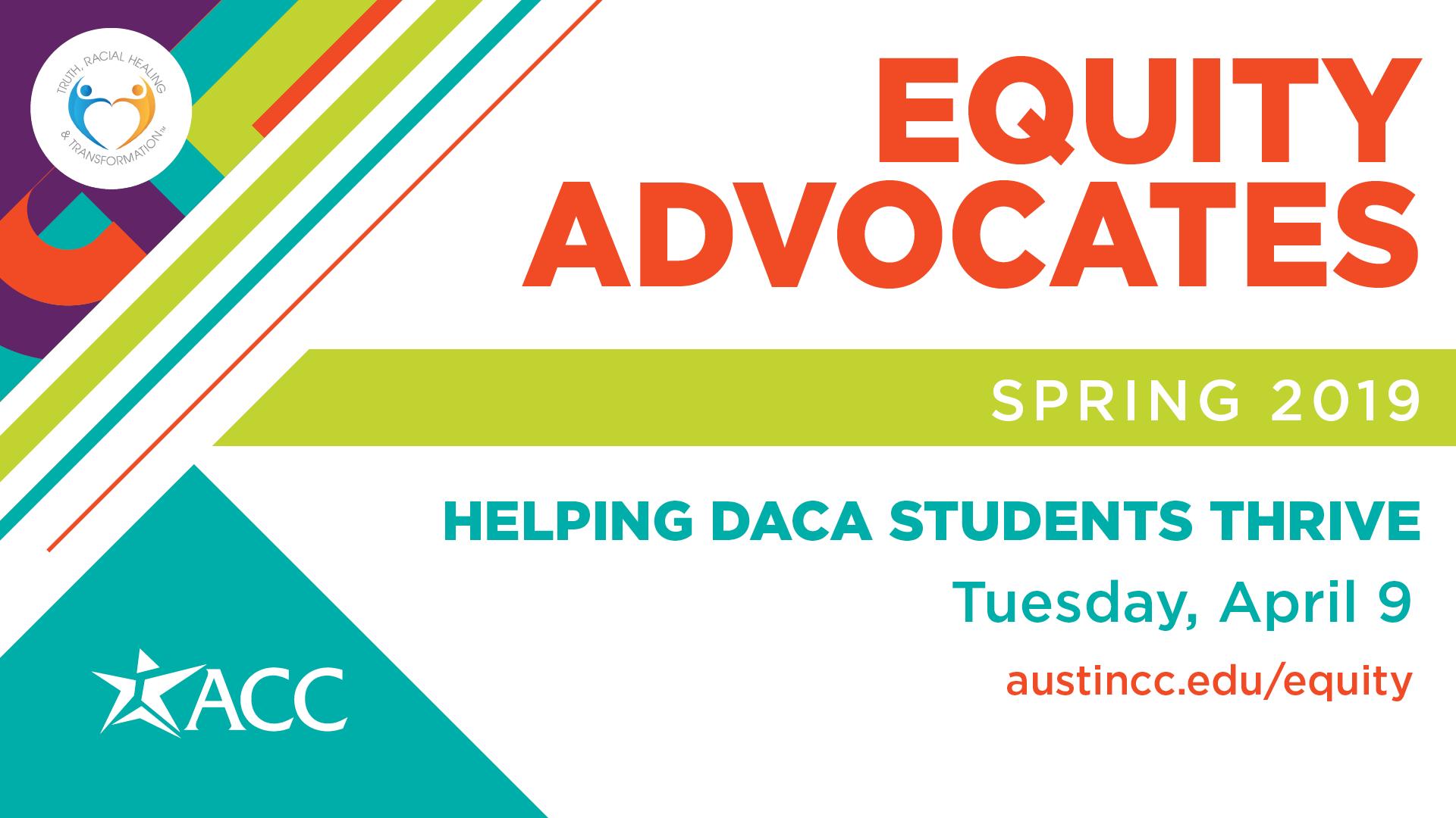Equity Advocates April 9 2019