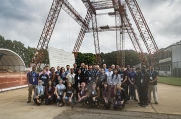 National Community College Aerospace Scholars program, Laura Colten Group Picture, NASA, NCAS