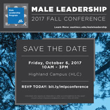 Male Leadership Conference, October 6, 2017