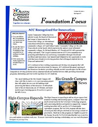 Foundation Focus Spring 2017