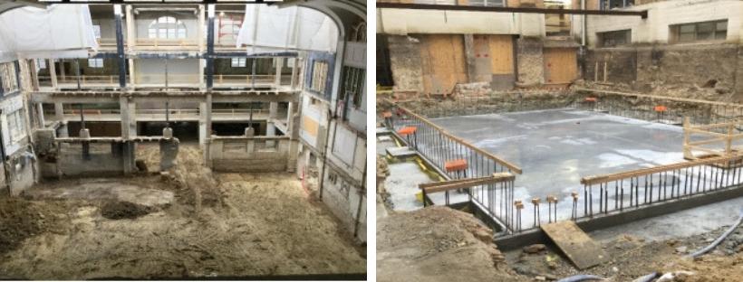 Rio Grande Campus Feb 2019 Construction photos