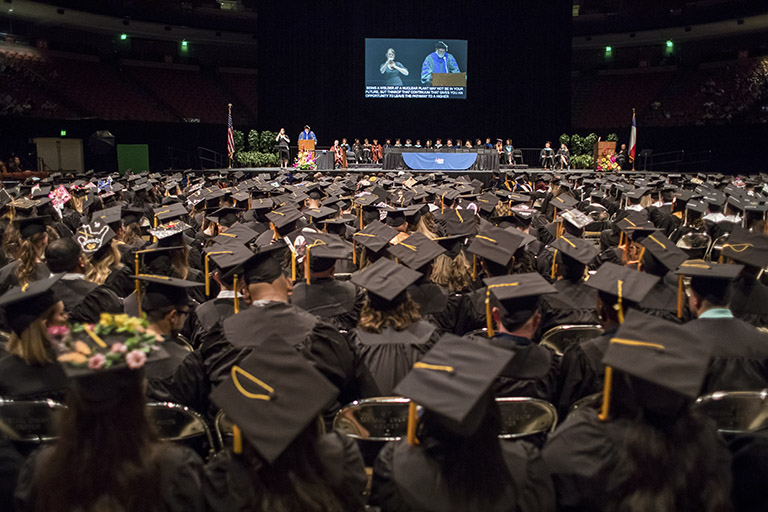 Graduation and completion numbers up almost 52 percent over the past five years.