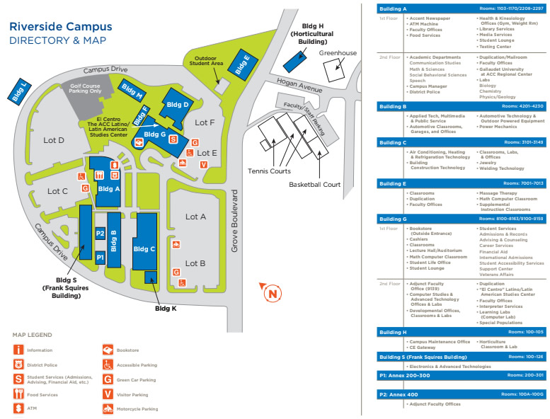 Riverside Campus Map.Riverside Campus Austin Community College District