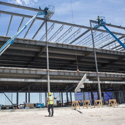 construction at ACC site benefits of the bond program