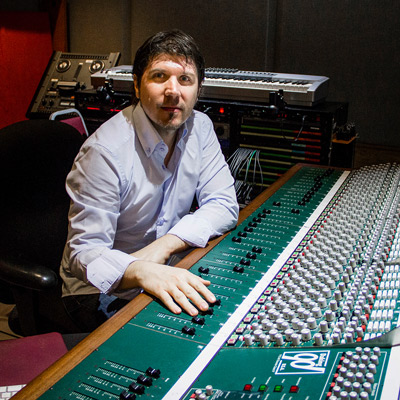 Milan Sretenovic, Owner, Minja'Sound Recording Studio