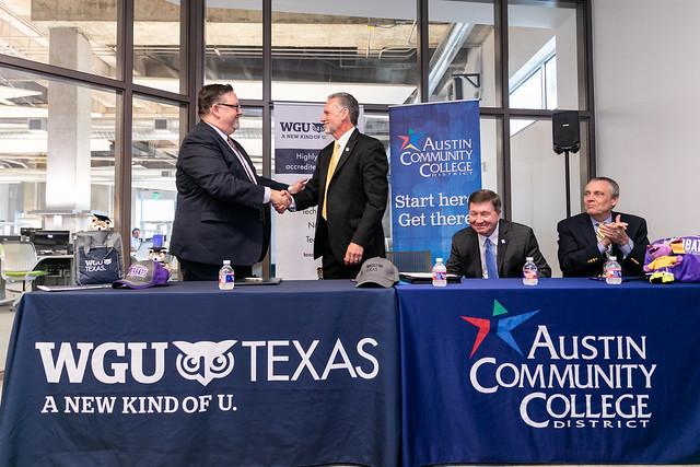 ACC and WGU Texas launch new partnership | Austin Community