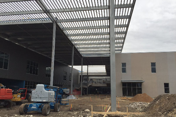 Austin Community College Highland Campus Construction