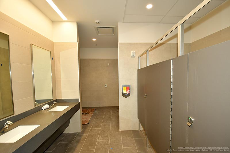 Highland Campus Phase 2 restroom