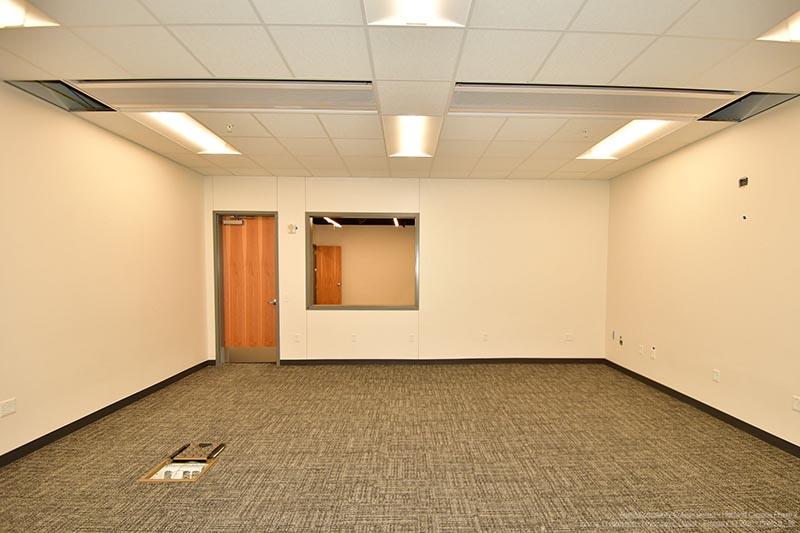 Highland Campus Phase 2 interior finishes