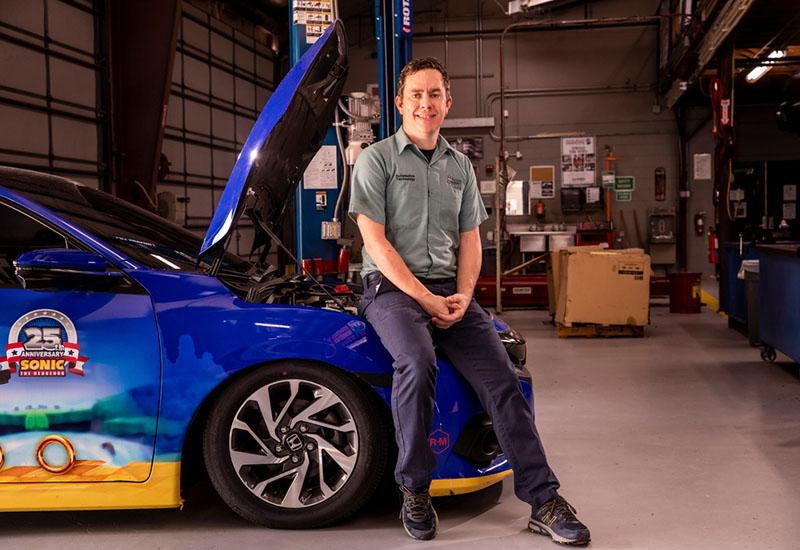 Dusty Mills, Automotive Technology associate professor