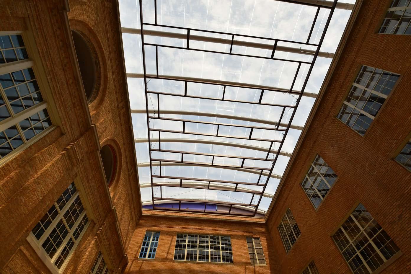 Rio Grande Campus new atrium roof system
