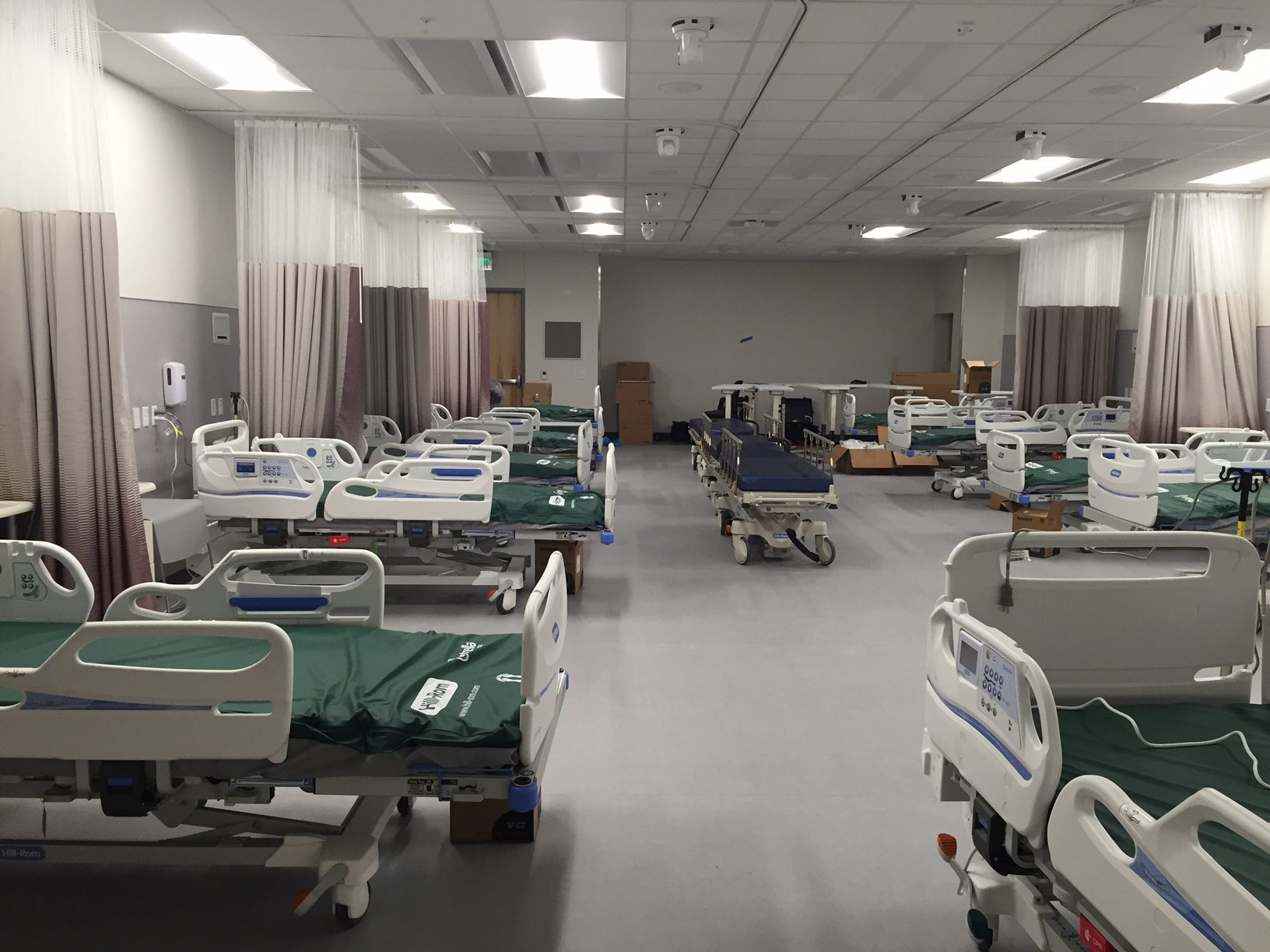 Highland Campus Phase 2 health sciences simulation skills lab