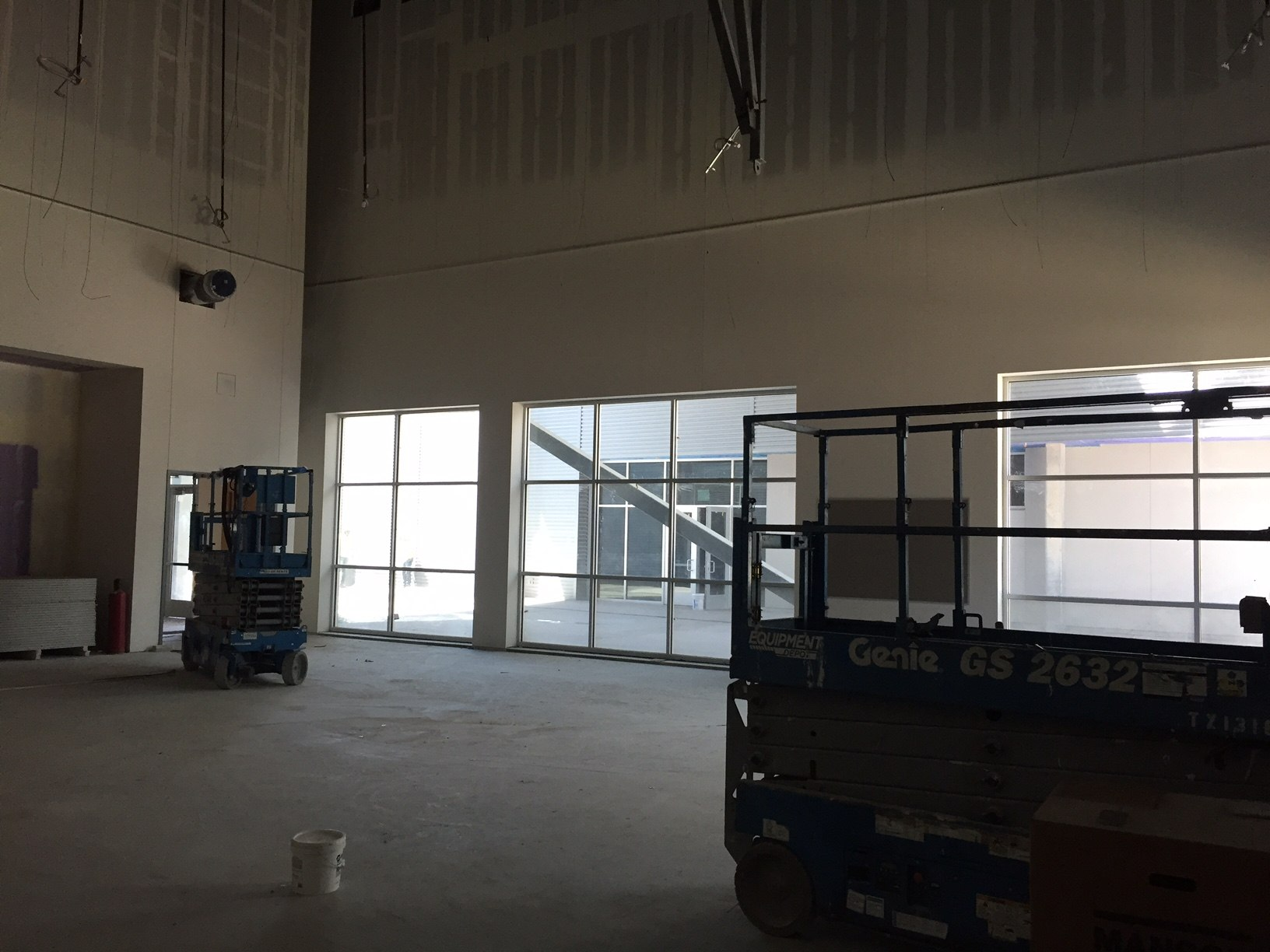 Highland Campus Phase 2 dance studio
