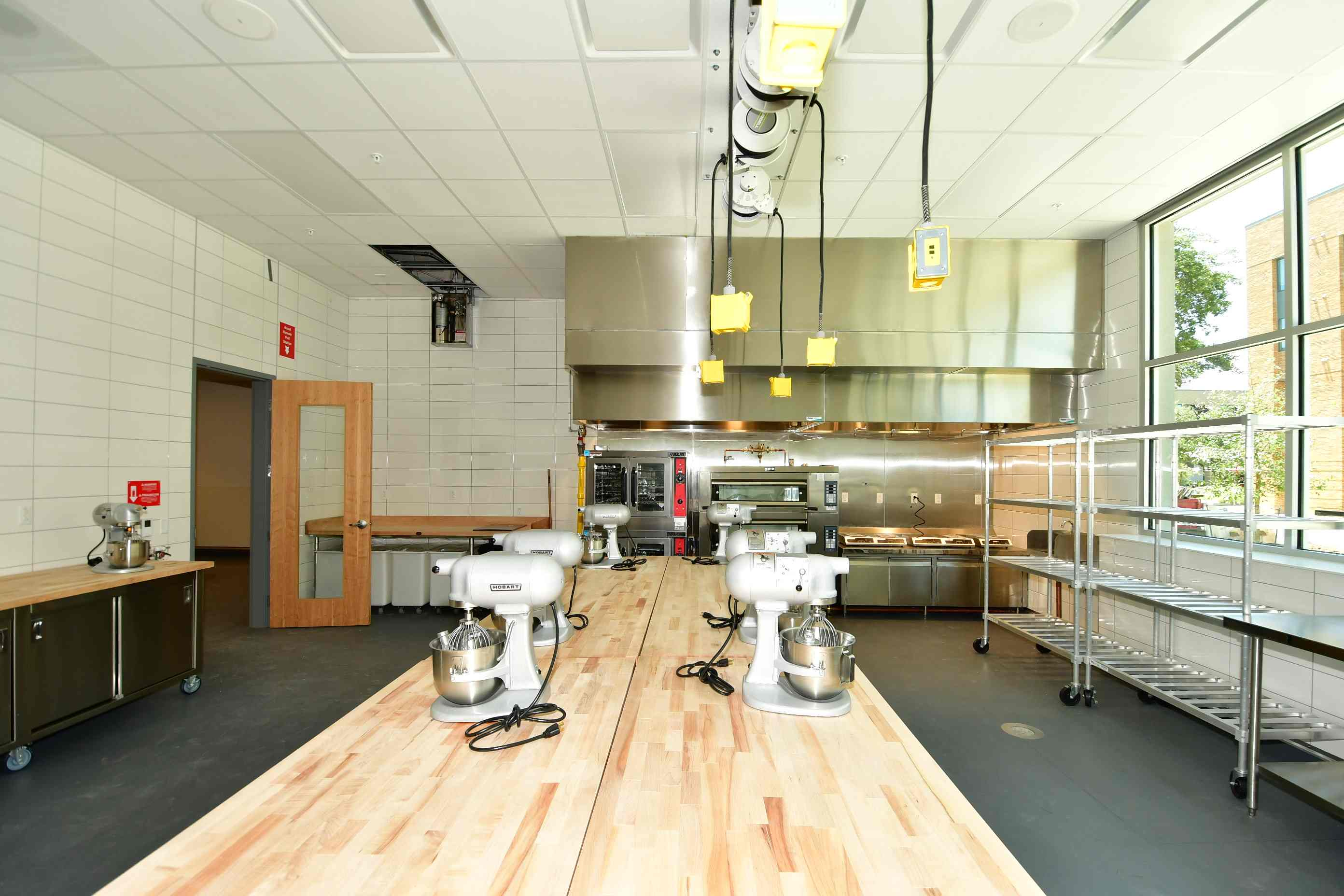 Highland Campus Phase 2 - Culinary pastry kitchen
