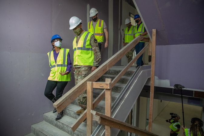 Austin Community College hosts tour of new Futures Command Software Factory at Rio Grande Campus