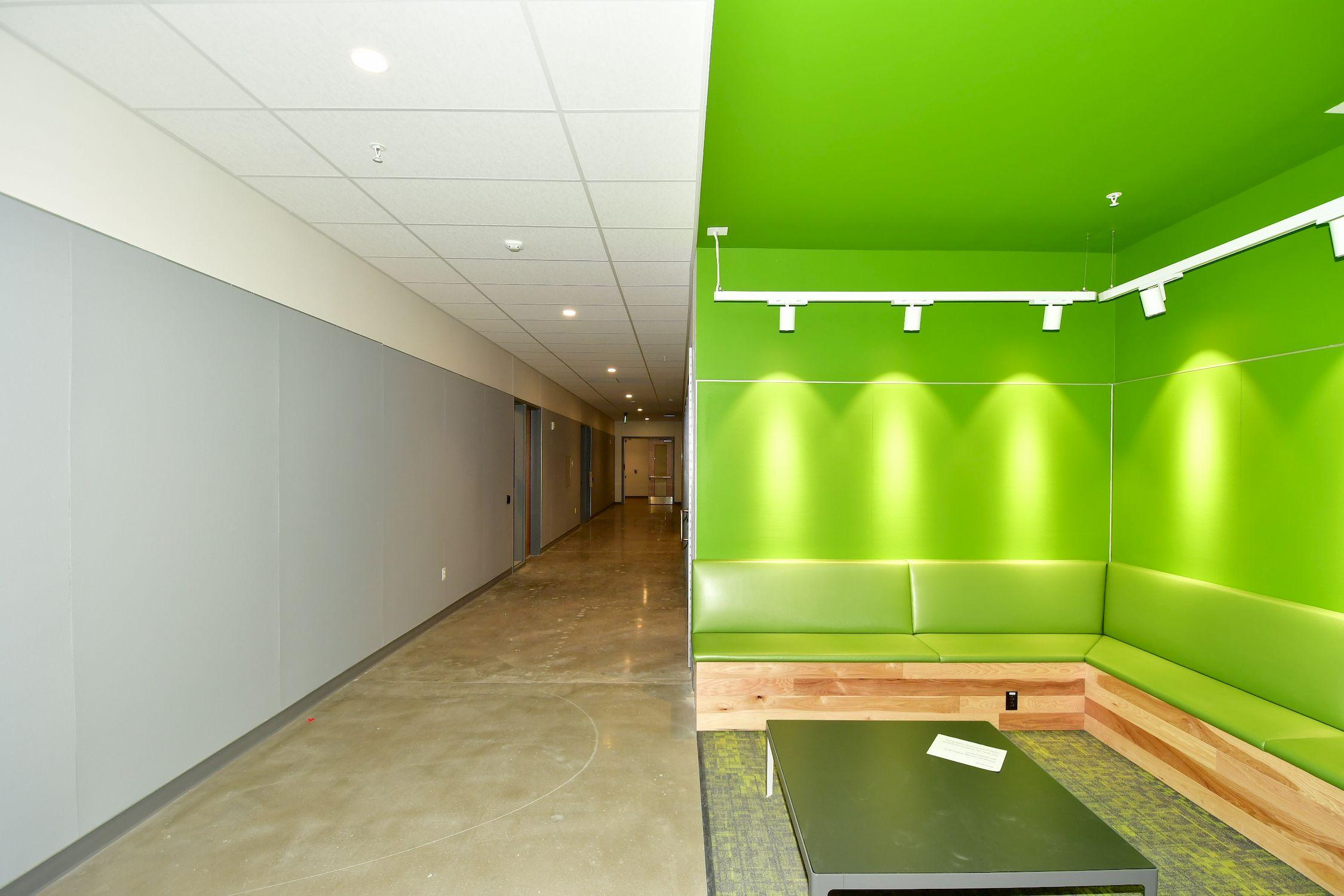 Highland Campus Phase 2 Viscom Corridor