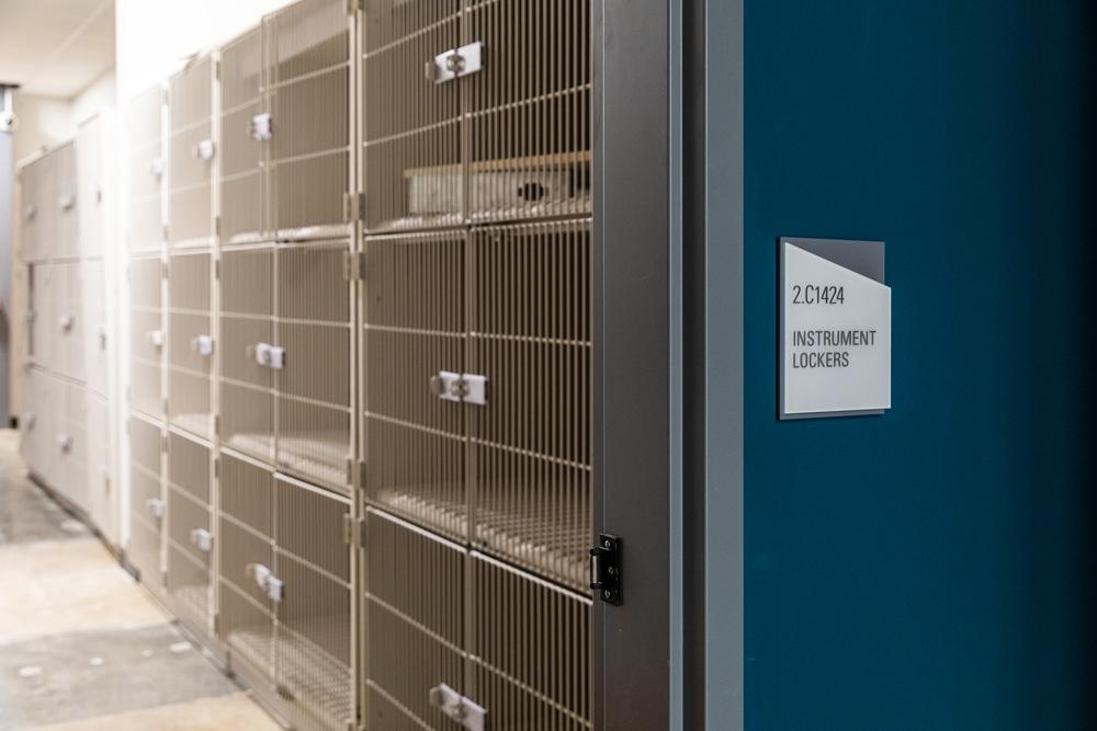 Highland Campus Phase 2 Move-in: Music Instrument Lockers