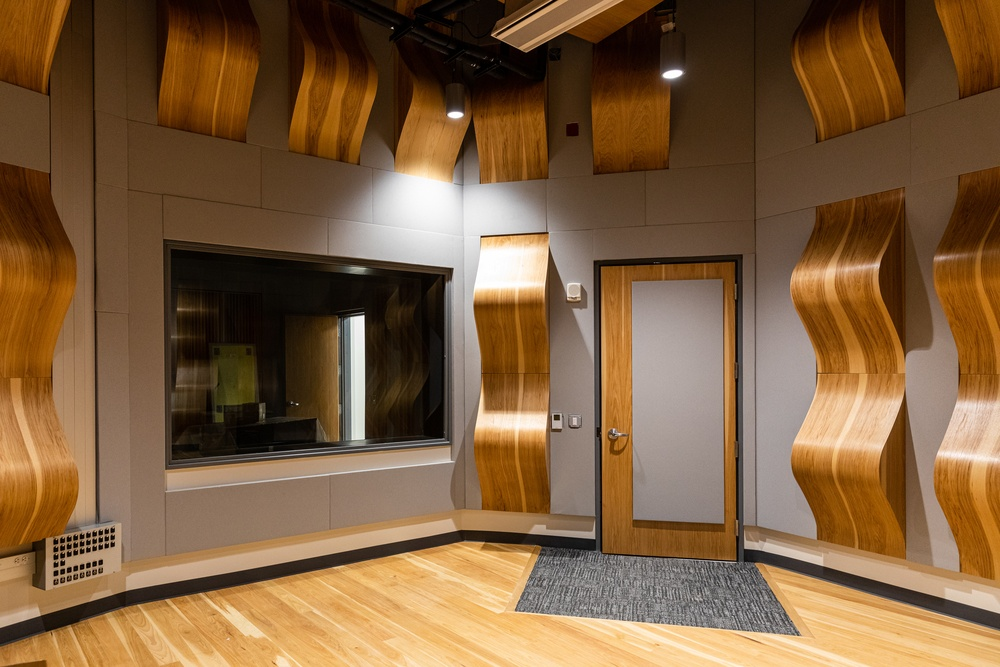 Highland Campus Phase 2 Move-in: MBPT Recording Studio