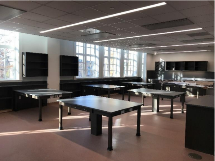 Rio Grande Campus Level 2 Ceiling Finishes