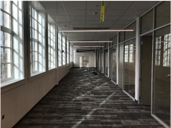 Rio Grande Campus Level 3 Paint, Carpet, Ceiling Finishes