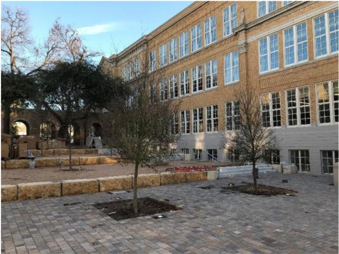 Rio Grande Campus North Courtyard Pavers