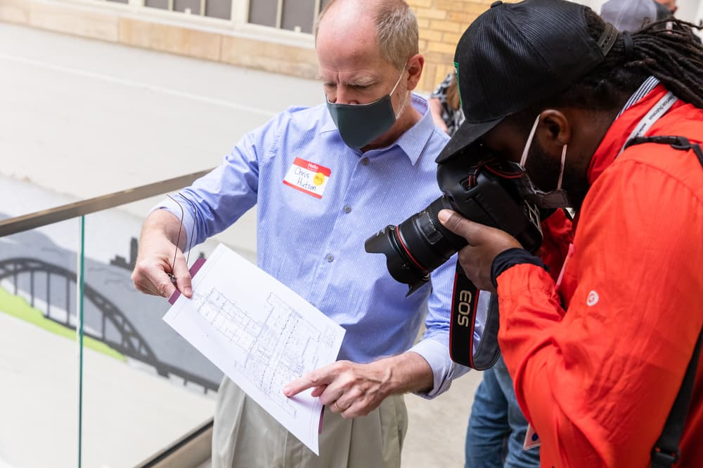 Austin American-Statesman tour of ACC Rio Grande Campus