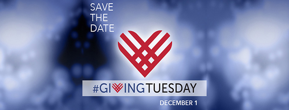 Save the date. Giving Tuesday is December 1.