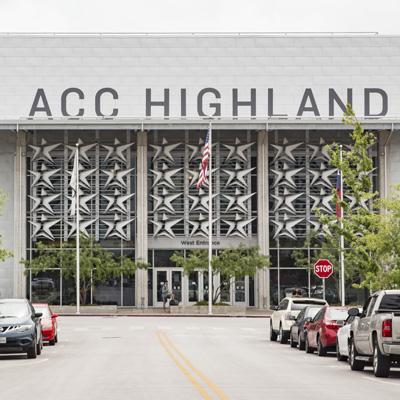 Highland campus facade