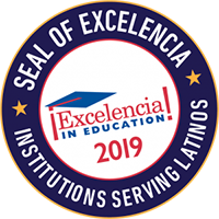 Seal of Excelencia, Excelencia in education, Institutions serving latinos.