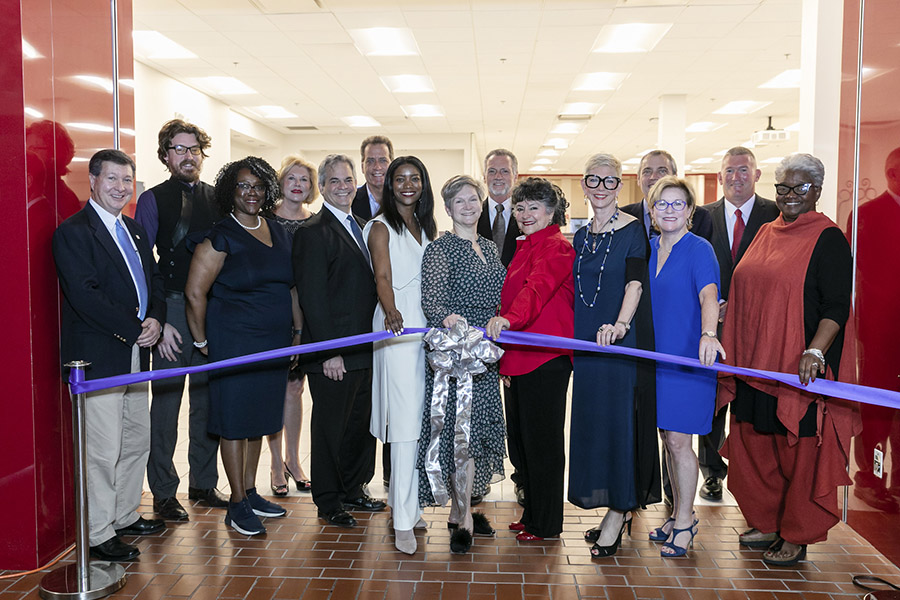 ACC's Fashion Incubator grand opening ribbon cutting ceremony.