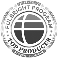 2019-2020 Fulbright program top producer