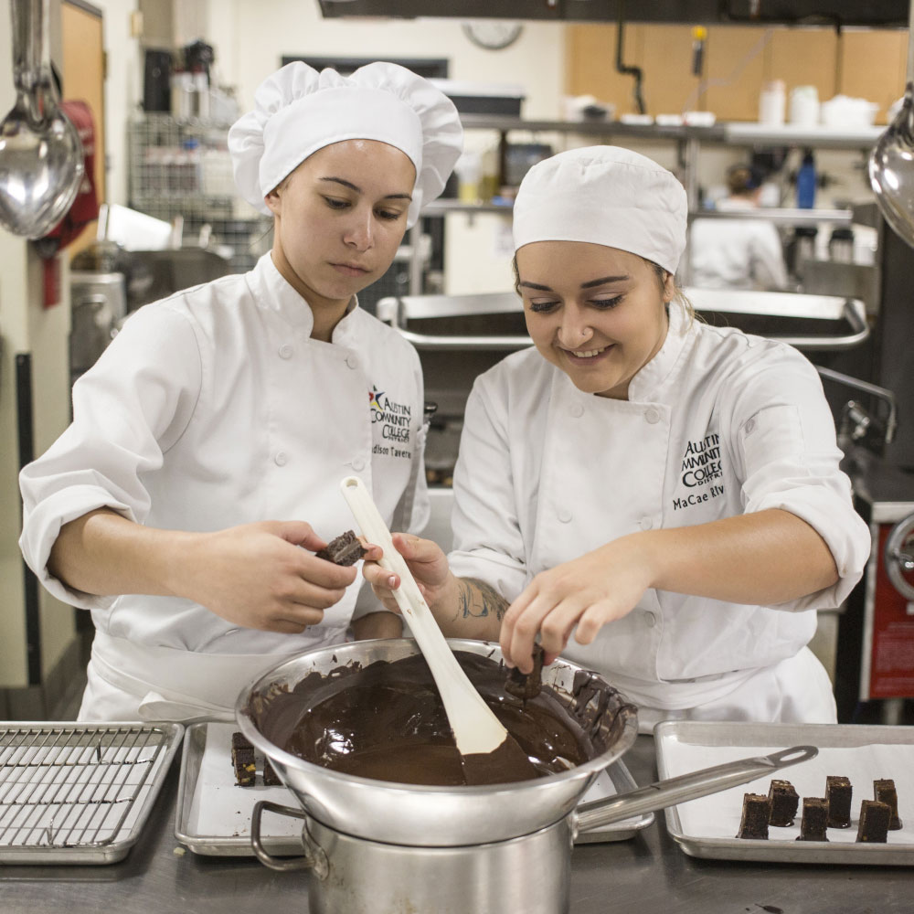 ACC Culinary Arts students