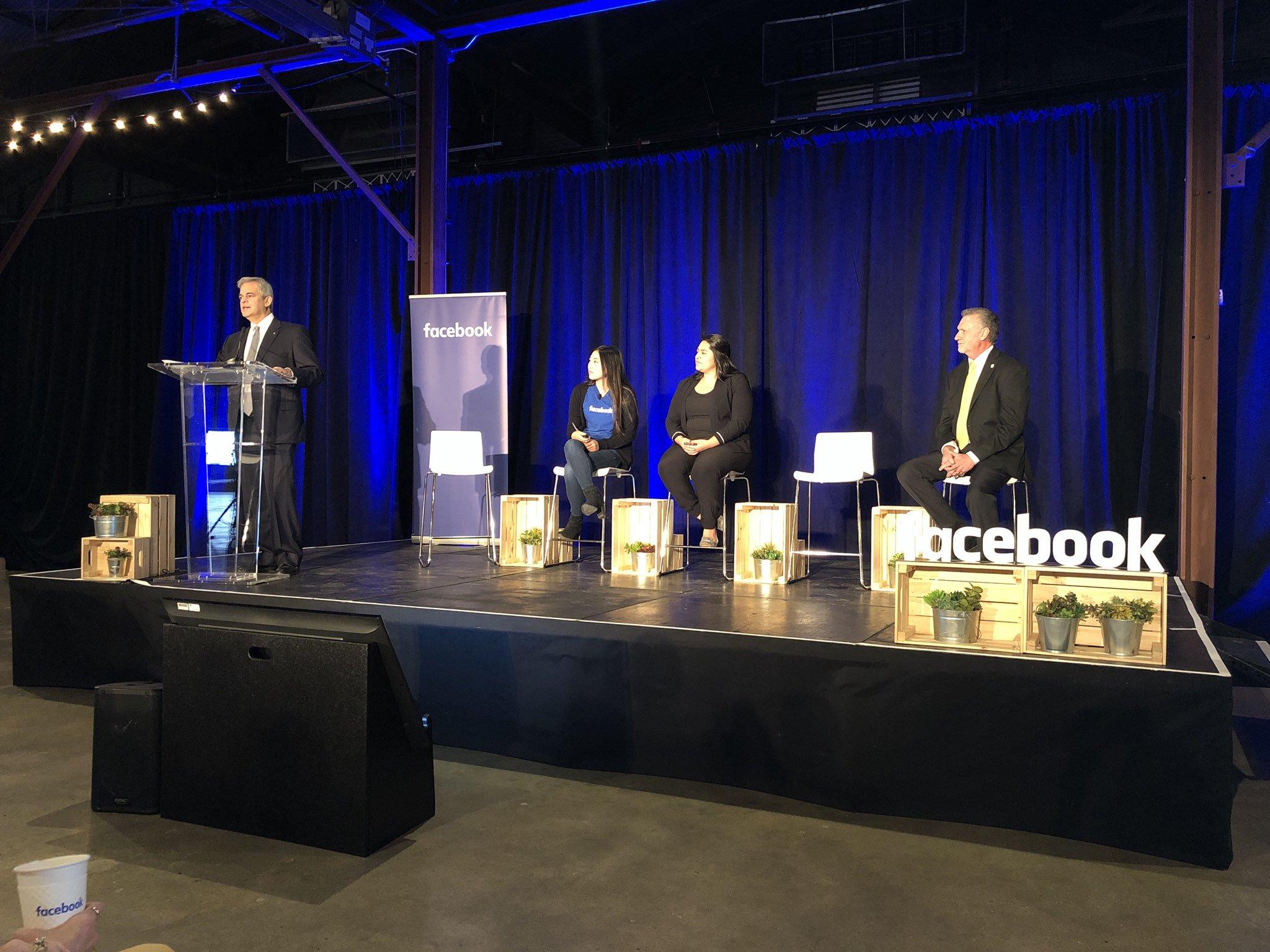 ACC Facebook partnership announcement