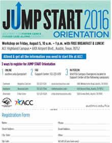 Jumpstart Orientation 2016