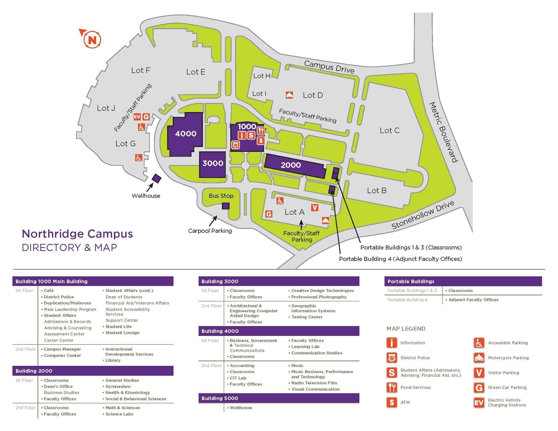 acc northridge campus map Northridge Campus Austin Community College District acc northridge campus map