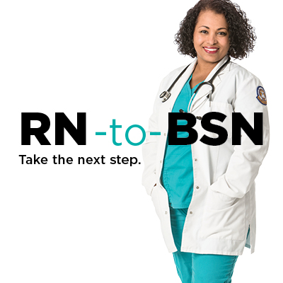 RN-to-BSN take the next step.