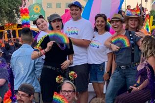 2019 ACC at Austin Pride Parade