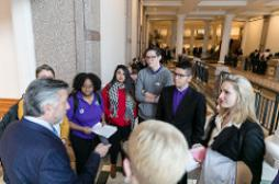 Community College Day, Rally, State Capitol, South Steps, Legislature