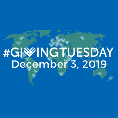 Hashtag Giving Tuesday December 3, 2019
