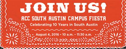 South Austin Campus Anniversary Fiesta