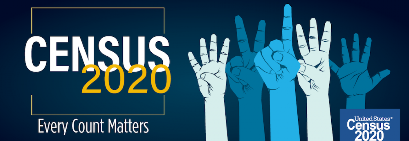 Census 2020 - Every vote matters